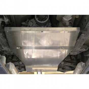 Blindage aluminium bv+bt Ford Ranger 2012+