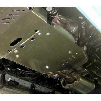 Blindage aluminium bv+bt  5 mmToyota KDJ 150-155 2010-2015 3.0 L TD
