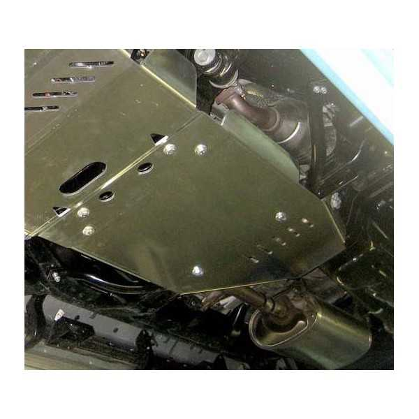 Blindage bv+bt aluminium Toyota KDJ 150-155 2010-2015 3.0 L TD
