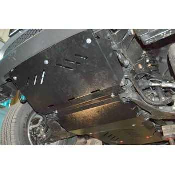 Blindage moteur acier Mitsubishi L200 05/2006-09/2015