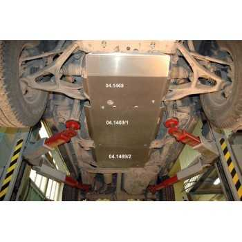 Blindage bv+bt aluminium Hummer H3 2008+