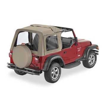 Capotage Bestop® sunrider beige Jeep Wrangler TJ 97-02