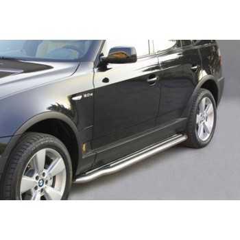 MARCHE PIEDS INOX 50MM BMW X3 2003-