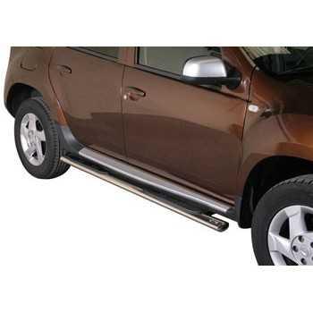 Marche pieds inox ovale Dacia Duster 2010-2017