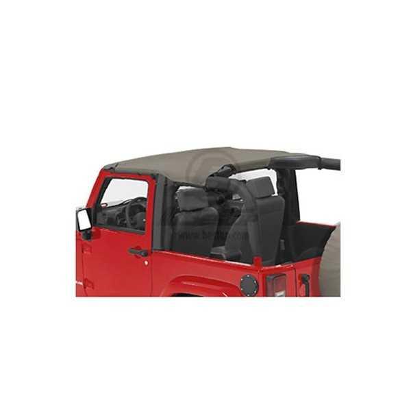Bikini® Tops KAKI Jeep Wrangler JK 2007-2009 2 portes