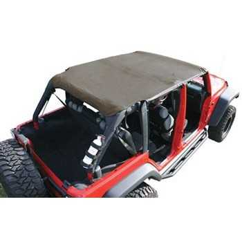 ISLAND TOPPER SOFT TOP KAKI JEEP JK 07-09 4 PORTES