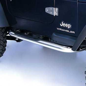 Marche pieds inox Jeep Wrangler TJ 1997-2006