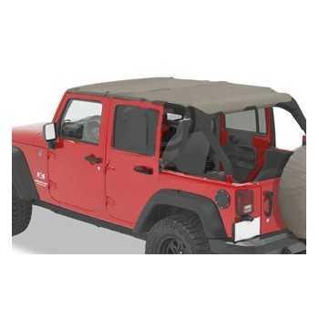 Bikini® Top safari Jeep Wrangler JK 2007-2009 4 portes