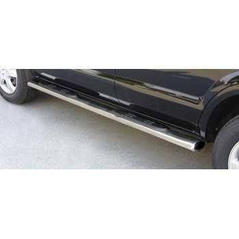 Marche pieds inox ovale Hyundai Tucson 2004-2015