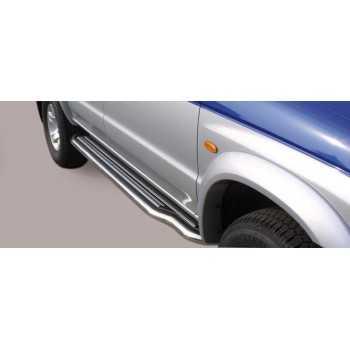 MARCHE PIEDS INOX 50MM MAZDA B2500 SINGLE CAB