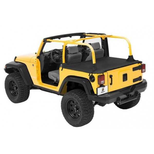 Tonneau cover Bestop® noir Jeep Wrangler JK 2 portes 2007-2018