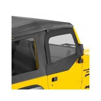 Haut de portes Bestop® noir Jeep Wrangler TJ 1997-2006