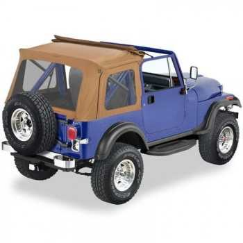 Capotage Sunrider Bestop® Spice Jeep Wrangler YJ et Jeep CJ7 76-95