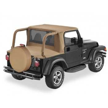 Capotage Halftop Bestop® spice Jeep Wrangler 1997-2002