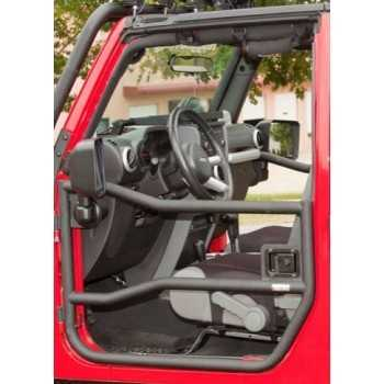 jeu demi-portes avant tubulaire Jeep Wrangler JK 2007-2018