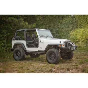 Jeu de demi-portes avant tubulaire Jeep Wrangler TJ 1997-2006