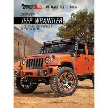Catalogue Jeep Wrangler JK pieces et accessoires de 2007 à 2017