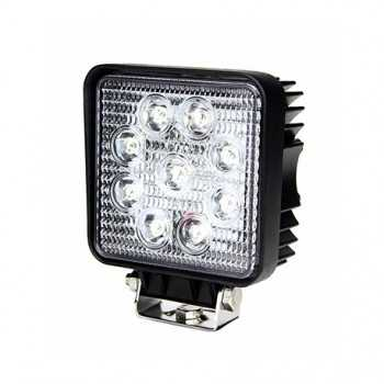 Phare de travail carré 9 LED 1700LM