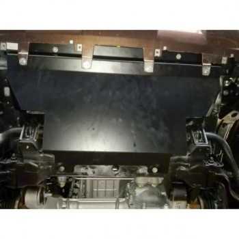 Blindage acier radiateur Nissan Navara NP300 2016-