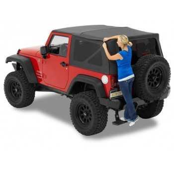 Capotage Supertop® NX Bestop® noir Jeep Wrangler JK 2007-2018