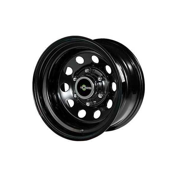 Jante acier modular noire 10X15 Land & Range Rover