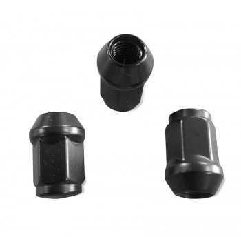 Ecrou de roue noir 1/2 pour clé de 19 mm JEEP CJ7-WRANGLER-CHEROKEE-GRAND CHEROKEE