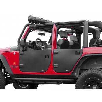 Jeux de demi-portes arriere Jeep Wrangler JK 2007-2018