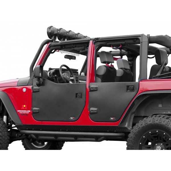 Jeu de demi-portes arriere Jeep Wrangler JK 2007-2018