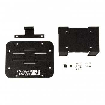 Plaque suppression porte roue de secours Wrangler JK 07-18