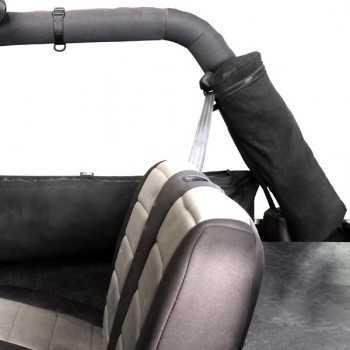 Sac de rangement sur bras d'arceau arrière Jeep CJ-YJ-TJ-JK