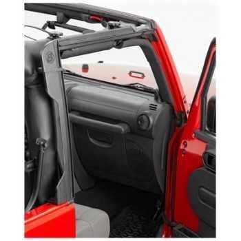Entourage de porte arrière Bestop® Jeep Wrangler JK 2007- 4 Portes