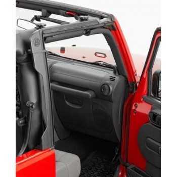 Entourage de porte avant Bestop® Jeep Wrangler JK 2007- 2 & 4 Portes