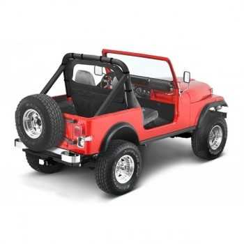 Windjammer Bestop® noir denin Jeep Wrangler YJ-CJ5-7-8 1980-1995