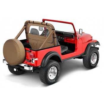 Windjammer Bestop® beige Jeep CJ5/CJ7 et Wrangler 1980-1995