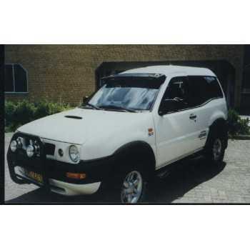 Visiere de pare brise teinté Nissan Terrano II 1993-2006