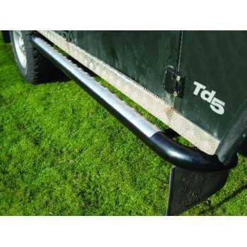 Marche pieds noir LAND ROVER 110 tous modèles 1983-2013