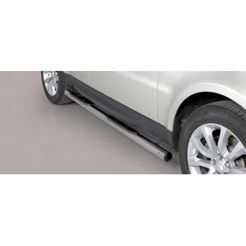 Marche pieds inox max 76 mm Range Rover Sport 2014+