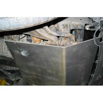 Blindage moteur aluminium Nissan Navara D40 de 07-2005 à 01-2016