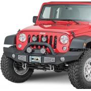 Pare choc avant noir XRC Atlas jeep Wrangler JK 2007-2018
