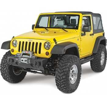 Pare chocs XHD avec support de treuil Jeep Wrangler JK 2007-2018