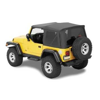 Capotage Supertop® nx noir Jeep Wrangler TJ 97-06