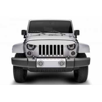 Calandre NightHawk ABS Jeep Wrangler JK 2007-2018