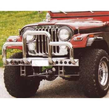 Grille de calandre inox JEEP CJ 1976-1986