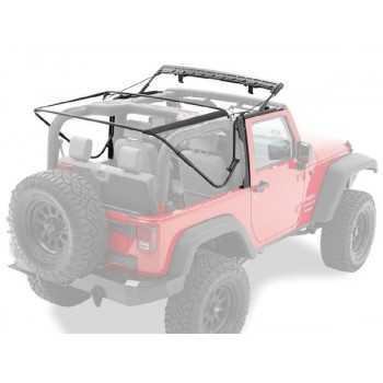 Armature metallique pour capotage origine Jeep Wrangler JK 2007- 2 portes