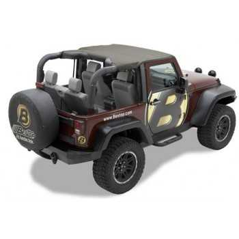 Bikini® Top KAKI Jeep Wrangler JK 2010-2018 2 portes