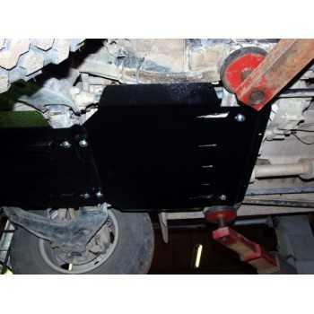Blindage boite de vitesse acier Mitsubishi L200 1996-2006