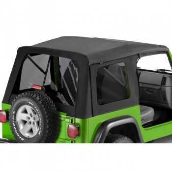 Capotage Supertop® BESTOP noir Jeep Wrangler TJ 1997-2006 (vitres teintées)