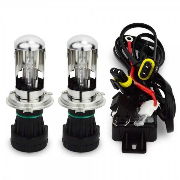 Kit phares xénon bi-xénon H4 HID 35 W 6 000 K