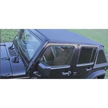 Bache ULTIMATE SUNTOP noir Jeep Wrangler JK 2007-2017 4 portes