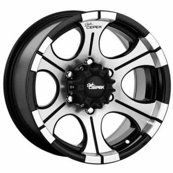 Jante DICK CEPECK 2 noir 9 X18 Toyota-Nissan-Mitsubishi
